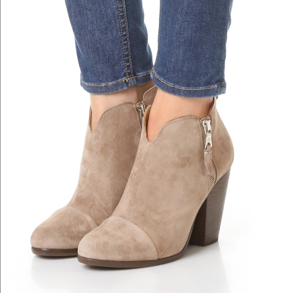 a34cd90dbf Rag & Bone Margot boot booties in warm grey